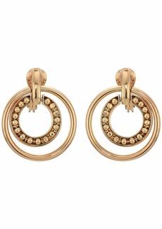 Ralph Lauren Clip Orbital Hoop Earrings