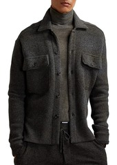 Ralph Lauren Collared Long-Sleeve Overshirt