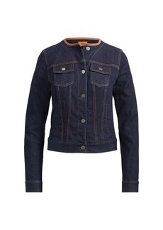 Ralph Lauren Collarless Denim Jacket
