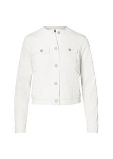 Ralph Lauren Collarless Denim Jacket