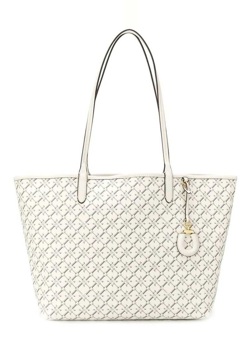 Ralph Lauren Collins logo tote bag