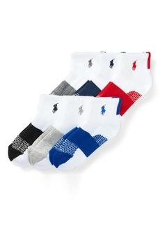 Ralph Lauren Color-Block Sport Sock 6-Pack