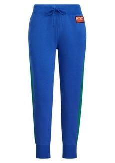 Ralph Lauren Color-Blocked Fleece Sweatpant