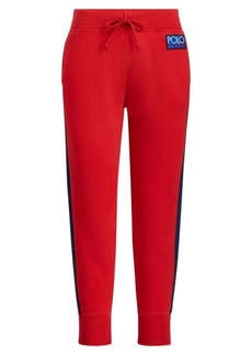 Ralph Lauren Color-Blocked Fleece Sweatpant