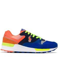 Ralph Lauren colour blocked low top sneakers