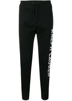 Ralph Lauren contrast logo track pants