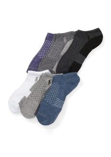 Ralph Lauren Contrast Low-Cut Sock 6-Pack