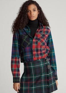 Ralph Lauren Contrast Plaid Cotton Shirt