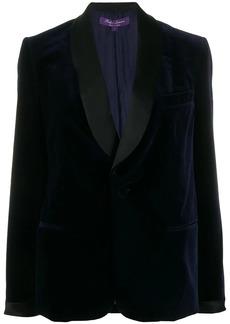 Ralph Lauren contrast single-breasted blazer