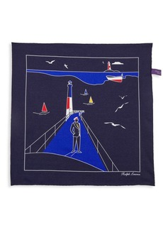 Ralph Lauren Conversational Silk Pocket Square