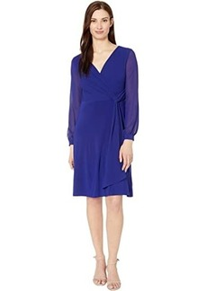 Ralph Lauren Cooper Long Sleeve Day Dress