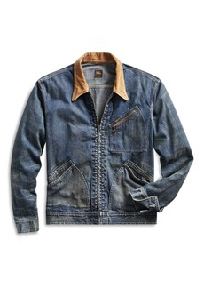 Ralph Lauren Corduroy-Collar Denim Jacket