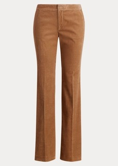 Ralph Lauren Corduroy Straight-Leg Pant