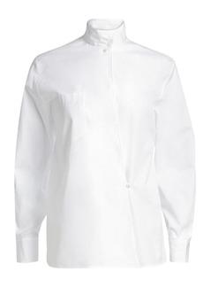 Ralph Lauren Corinna Kimono Wrap Shirt
