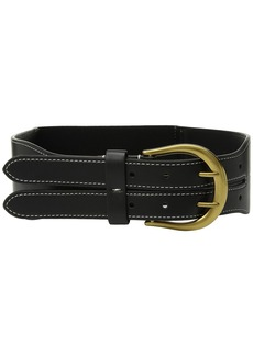 Ralph Lauren Cornwall Smooth PU/Stretch Belt