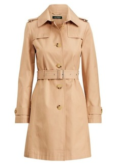 Ralph Lauren Cotton-Blend Belted Trench