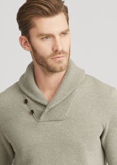 Ralph Lauren Cotton-Blend-Fleece Pullover