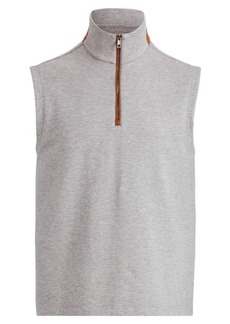 Ralph Lauren Cotton-Blend-Fleece Vest
