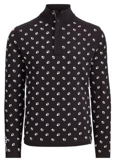 Ralph Lauren Cotton-Blend Golf Sweater