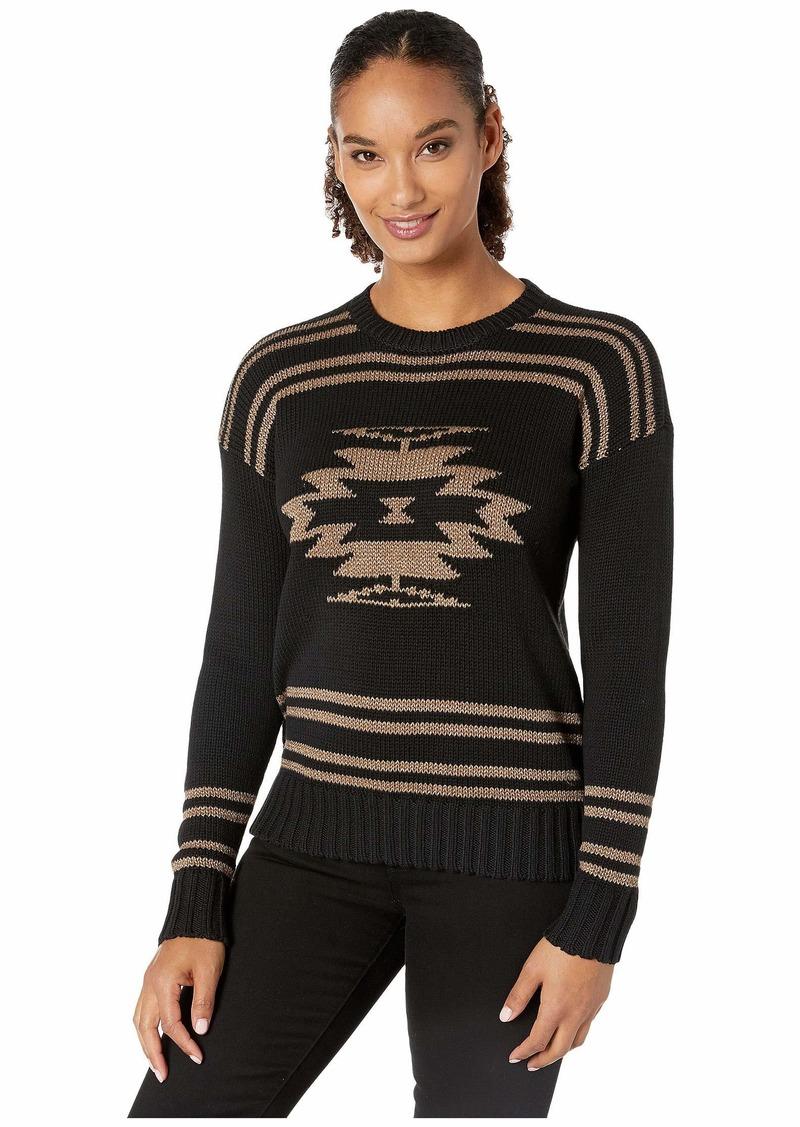 Ralph Lauren Cotton-Blend Graphic Sweater