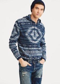 Ralph Lauren Cotton-Blend Hooded Sweater