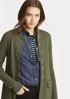 Ralph Lauren Cotton-Blend Officer's Jacket