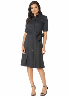 Ralph Lauren Cotton-Blend Shirtdress