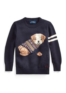 Ralph Lauren Cotton-Blend Sweater
