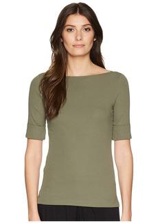 Ralph Lauren Cotton Boat Neck T-Shirt