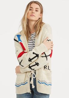 Ralph Lauren Cotton Boyfriend Cardigan