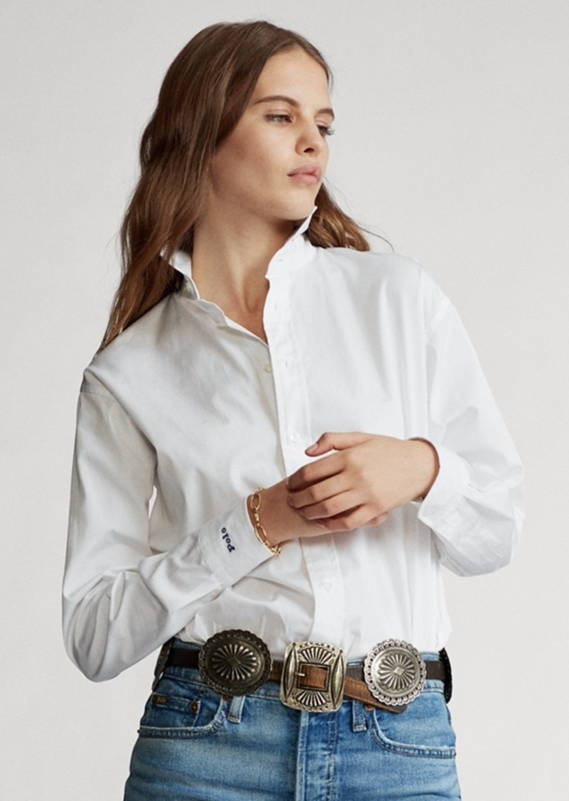 Ralph Lauren Cotton Broadcloth Shirt