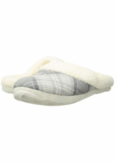 Ralph Lauren Cotton Brushed Twill & So Soft Fleece Lining Slippers