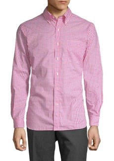 Ralph Lauren Cotton Button-Down Check Shirt