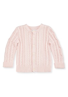Ralph Lauren Cotton Cable-Knit Cardigan