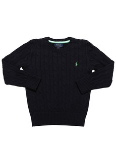 Ralph Lauren Cotton Cable Knit Sweater