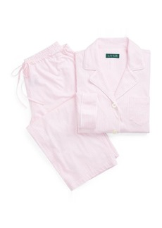 Ralph Lauren Cotton Capri Sleep Set