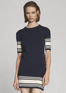Cotton-Cashmere Sweater Dress