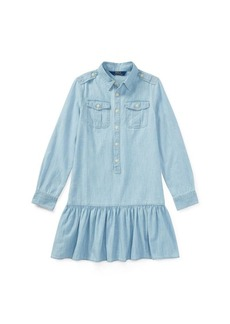 Ralph Lauren Cotton Chambray Shirtdress