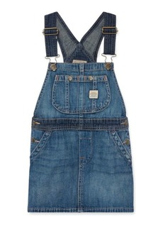 Ralph Lauren Cotton Denim Overall Dress