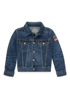 Ralph Lauren Cotton Denim Trucker Jacket