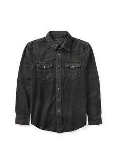 Ralph Lauren Cotton Denim Western Shirt
