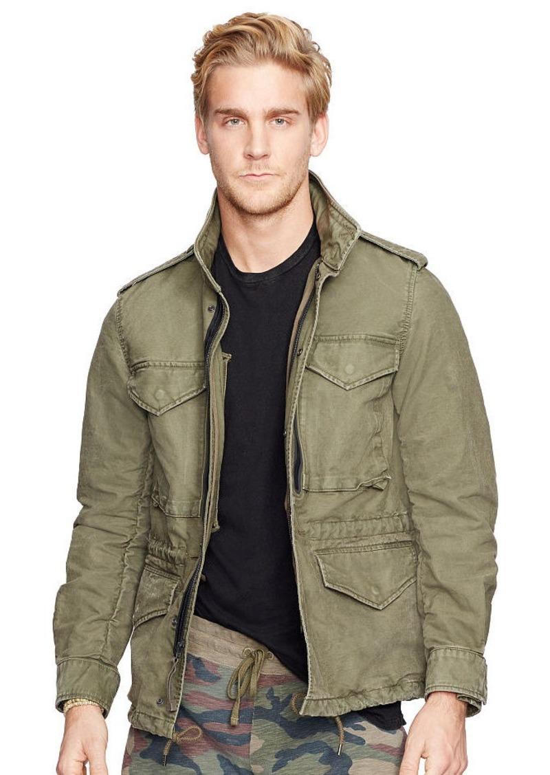 Ralph Lauren Cotton Dobby Field Jacket