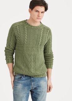 Ralph Lauren Cotton Fisherman's Sweater