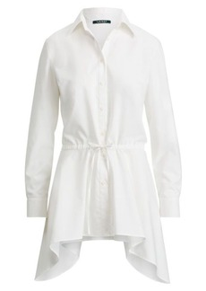 Ralph Lauren Cotton Fit-and-Flare Shirt