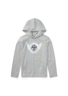 Ralph Lauren Cotton Graphic Hooded T-Shirt