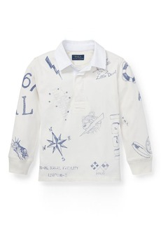 Ralph Lauren Cotton Graphic Rugby Shirt
