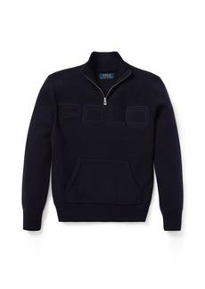 Ralph Lauren Cotton Half-Zip Sweater