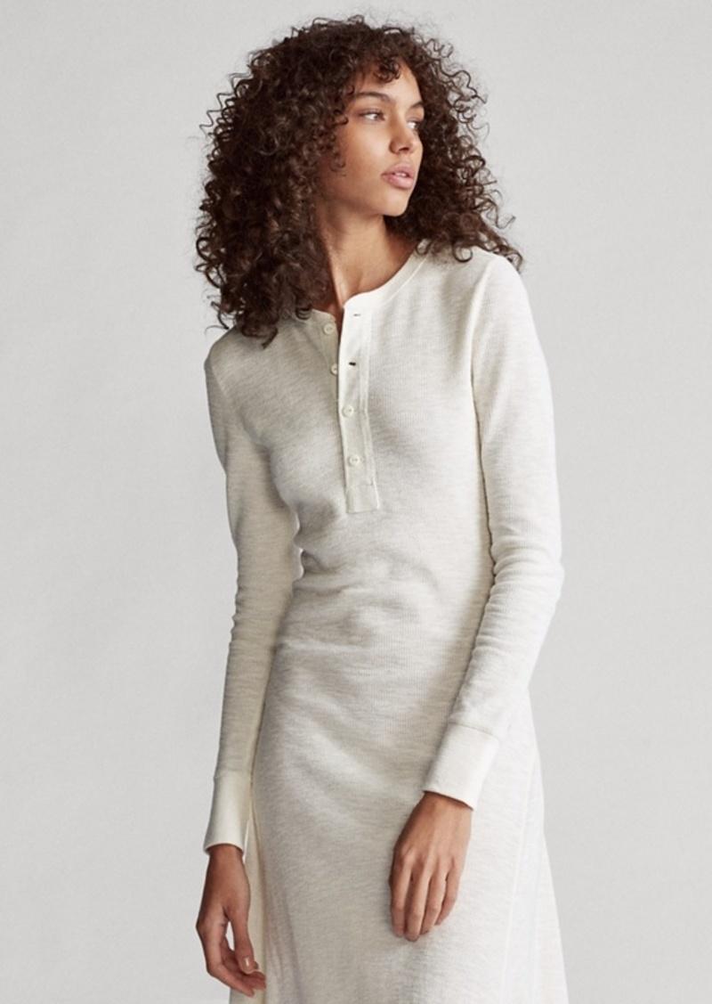 Ralph Lauren Cotton Henley Dress