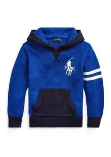 Ralph Lauren Cotton Hooded Sweater