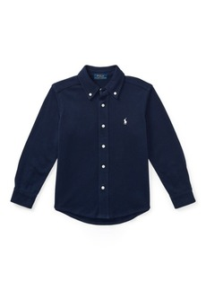 Ralph Lauren Cotton Interlock Shirt